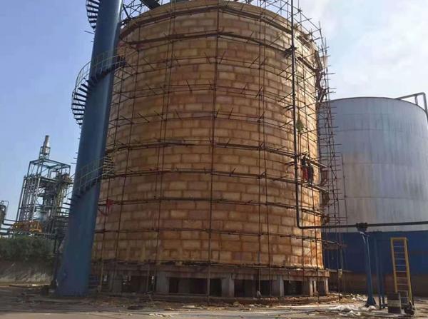 重庆长寿国际化工园区化工原料储罐区项目